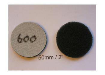 Non Woven 2 Inch Discs 600