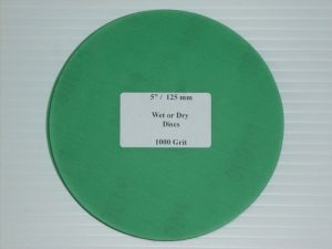 Wet or Dry Abrasive Disc 5 Inch 1000 Grit