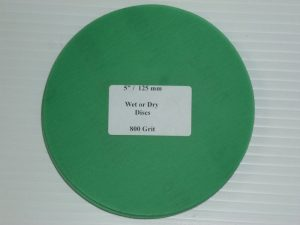 Wet or Dry Abrasive Disc 5 Inch 800 Grit